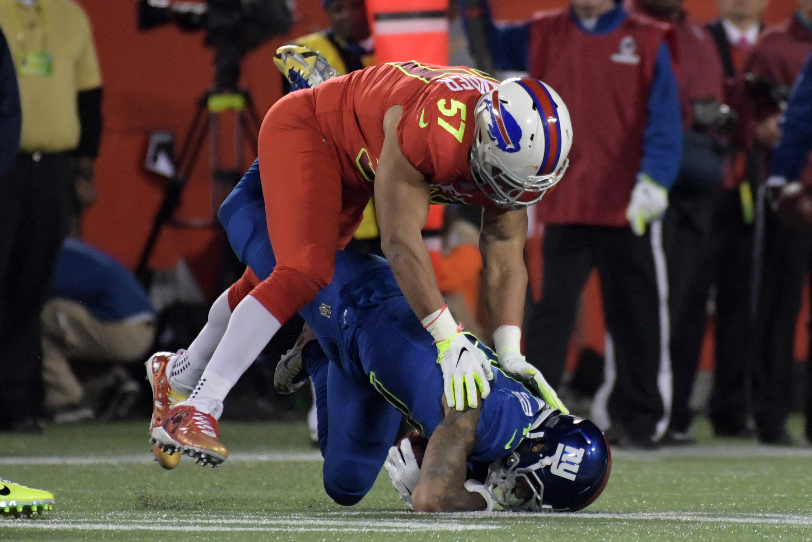 buy online 45a22 7924d Buffalo Bills: Final Results/Stats From the 2017 Pro Bowl ...